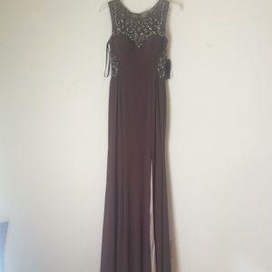 Size 4 prom dress. Off color purple, beautiful!